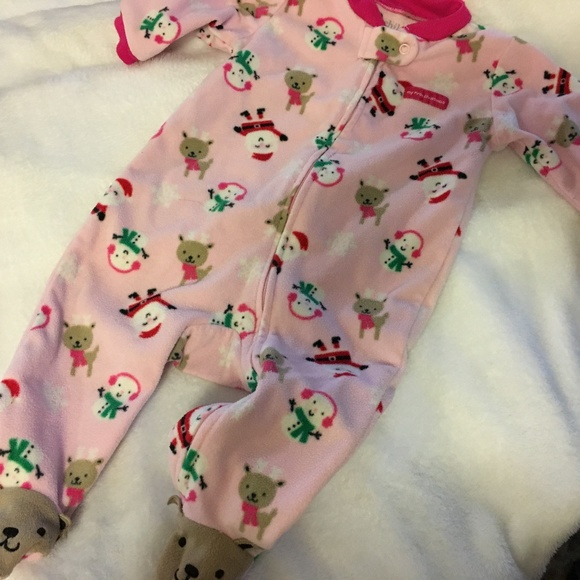 Carter s Other - CARTER s Baby Girl 6-9 mo First Christmas Feeties 560cfba48